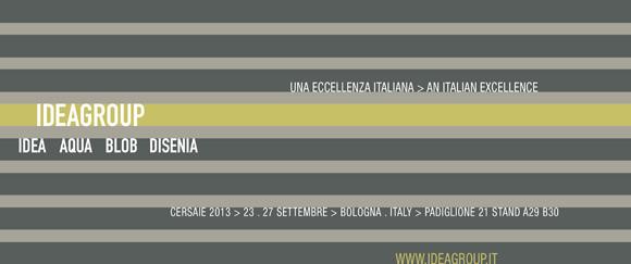 Ideagroup a Cersaie 2013