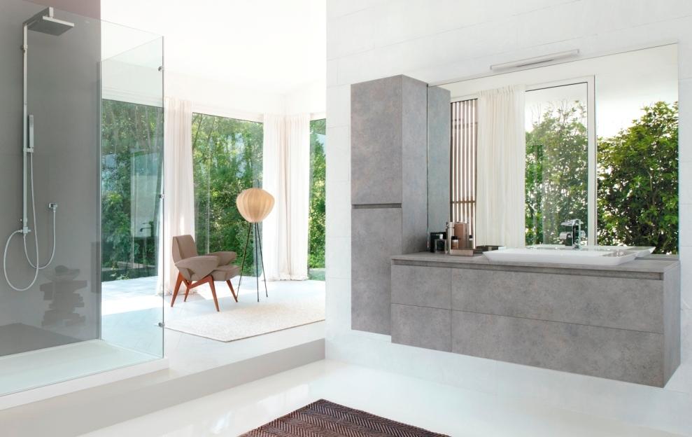 Cubik, la collection des meubles pour la salle de bains minimaliste