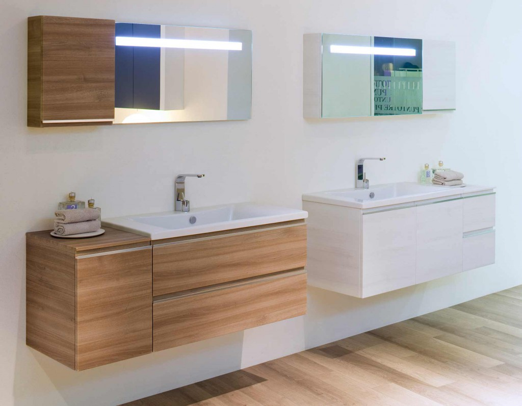 Salles de bains modulaires Mistral: nouvelles formes et finitions