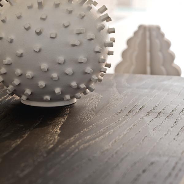 Plan en bois chêne , finition rabotée à la main