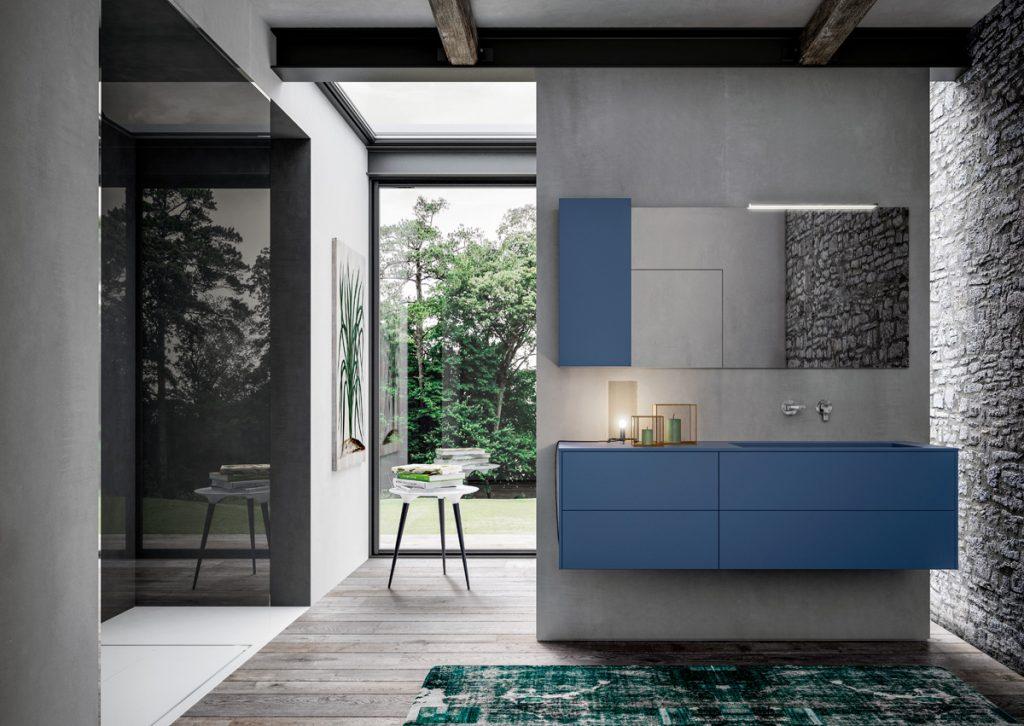 Sense. La première collection de meubles pour salle de bains à «sentir» et à choisir, «question feeling».