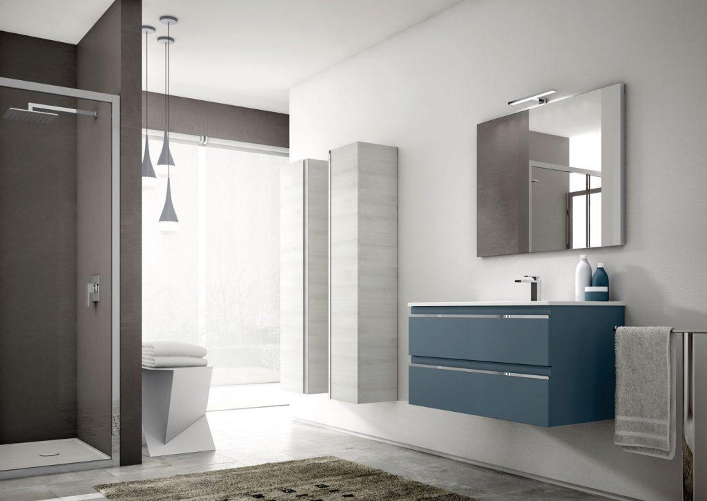 Mistral des meubles de salle de bains modulaires ideagroup - Colonne bagno moderne ...