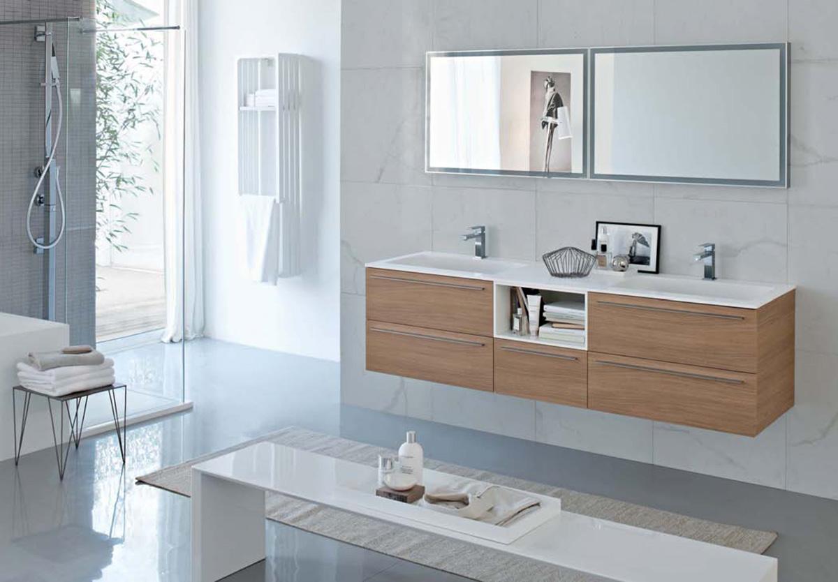 My fly evo meubles et accessoires de salle de bains modernes ideagroup - Prezzi mobili bagno moderni ...