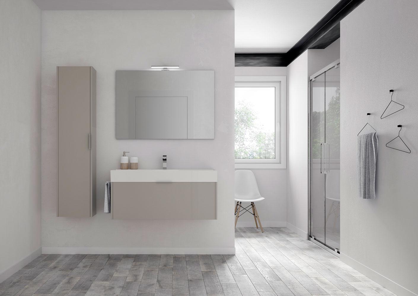Basic des meubles de salle de bains fonctionnelles for Mobili scontatissimi