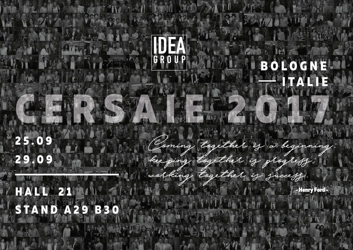 Ideagroup au salon Cersaie 2017