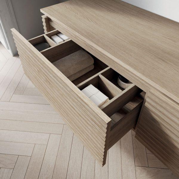 Structures internes en plaquage bois ou en laque