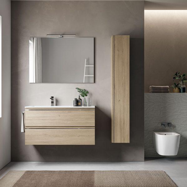 Meubles de salle de bains gain de place